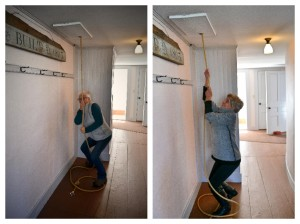 At what other hook-in do you find hookers ringing a historic church bell?  These are a couple of Parris House Hookers giving it their best.  On the left, Cindy Mitchell.  On the right, Irene Adams.