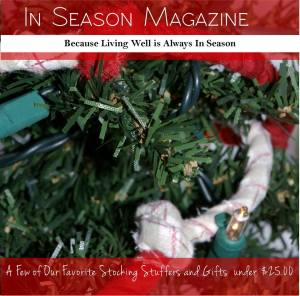 Photograph is the property of Jennifer Burcke and In Season Magazine.
